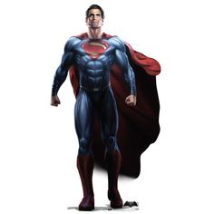 Batman V Superman: Dawn Of Justice Superman Standee from Warner Bros.: Bring home a life size version of the Man… #Movies #Films #DVD Video