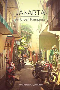 Jakarta: an urban kampung