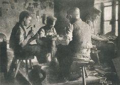 Die Kunst in der Photographie : 1899 Photographer: Max Schmidt Title: Die Schuster