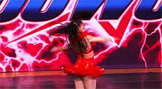 solo workin girl (my fav nia solo!) that death drop was perfect I don't care what Abby  says nia is amazing