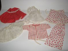 Vintage Lot Doll Clothes Outfits Dresses | Dolls & Bears, Dolls, Clothes & Accessories | eBay!