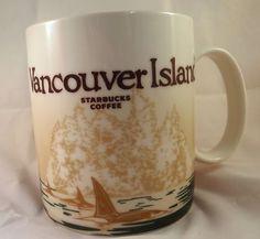Starbucks Coffee Vancouver Island Mug Global Series New 16 oz Free Shipping | eBay $48.95 Free Shipping 10% Helps Fight Breast Cancer