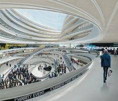 "Zaha Hadid Architects · ""FREITAG"": The Circle at Zurich Airport"