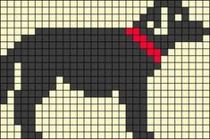 Knitting Charts Dog Perler Beads 44 Ideas For 2019 Motif Fair Isle, Fair Isle Chart, Cross Stitch Charts, Cross Stitch Designs, Cross Stitch Patterns, Fair Isle Knitting Patterns, Knitting Charts, Pixel Pattern, Dog Pattern