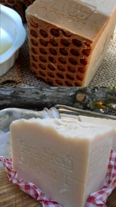 All Natural Soap Fresh Goats Milk Handcrafted with Oatmeal and Honey Soap, Honey from the hive, milk from the farm Goat Milk Recipes, Oatmeal Soap, Honey Soap, Unscented Soap, Homemade Soap Recipes, Goat Milk Soap, Milk And Honey, Home Made Soap, Oatmeal