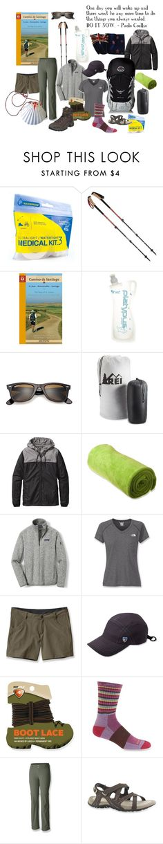 Camino de Santiago Packing List by guguinternational on Polyvore featuring Patagonia and Ray-Ban