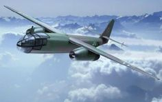 Arado Ar 234 B-1, reconnaissance aircraft. . .