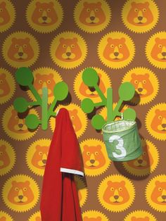 Adam, 123.701, cute lion wallpaper in yellow, orange and brown from the Lavmi Yellow book. Guthrie Bowron is proud to be the exclusive New Zealand stockist of wallpaper from the Czech Lavmi brand.