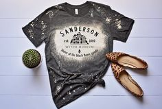 Excited to share this item from my #etsy shop: Bleached shirt | Sanderson Witch Museum Shirt | Fall shirts women | Hocus Pocus shirts | bleached tshirt | womens bleached | Halloween tee Hamilton Shirt, Hocus Pocus Shirt, Bleach Shirts, Sublime Shirt, Disney Shirts For Family, Fall Shirts, Look Vintage, Everyday Outfits, Custom Shirts