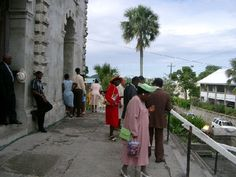 Going to the Sunday service in the local church, whatever your belief or non-belief, is a lovely way of interacting with the local community, especially on the Caribbean islands