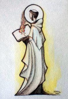 St,John of the Cross  Artist in residence-Carmelites