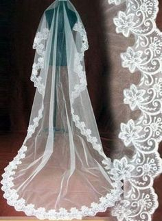 Mantilla cathedral style veil