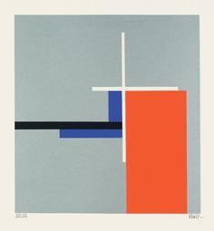 """calmack: """" Walter Dexel — Weißes Kreuz auf silbernem Grund (1970) """""""
