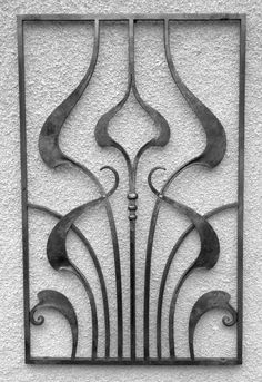 "here are some ""art nouveau"" inspired window grilles.                        [/url"