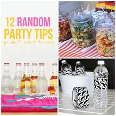I love a good poolside party. So how do you make your party unique? Check out some of my favorite ideas I've stumbled upon and see what your favorite is!