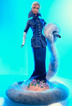 Indigo Obsession  Barbie Doll - Runway Collection- Limited Edition  1/2000
