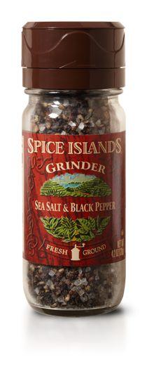 Sea Salt and Black Pepper Adjustable Grinder - Adjustable Grinders