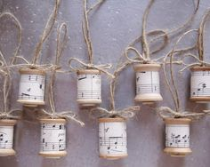 Sugared Spools Collector's Delight Ornaments by smilemercantile, $9.50 what a lovely idea!