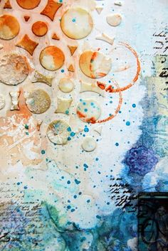 Bliss and Gesso: paperDVIZHNIK Challenge No.30...........and Our Beautiful World.
