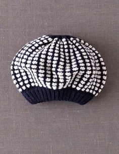 I've spotted this @BodenClothing Stripy Stitch Hat Oatmeal & Navy