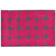Ink Spot Rug (Pink)  | The Land of Nod