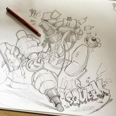 Scribblins... #cheo #sketch