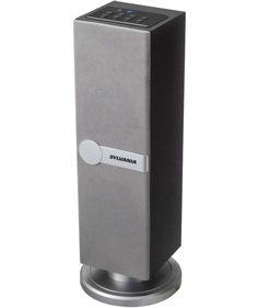 Renewed Sylvania Bluetooth Desktop Speaker Red