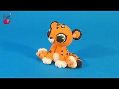 Leopard - Lampart - PATAREV clay by Ewa - YouTube