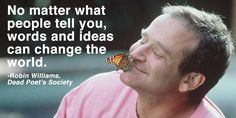 """""""No matter what people tell you, words and ideas can #ChangeTheWorld!""""  RT @TheStollery @Starfishfreedom"""