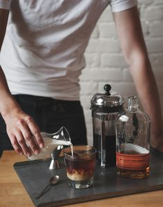 Cold Brew Bourbon Cocktail — a Better Happier St. Sebastian