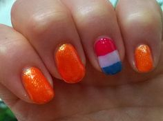 Nails made for trip to Amsterdam, Holland. Summer 2014