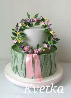 Flower cakes by Andrea Kvetka