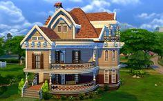 Custom Houses Sims 4 Jarkad Sims 4 Family House no