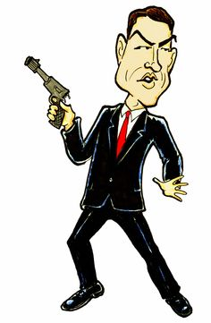007,  Bond, James Bond   www.drawme.com