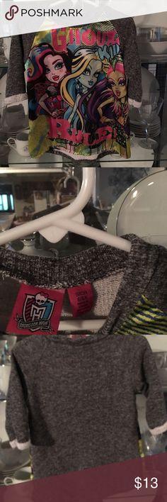 Monster High!  Girls 6/6x Monster High!  Girls 6/6x Shirts & Tops