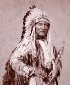Lakota Chief, Touch the Clouds