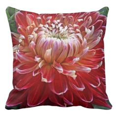 #beauty - #Dahlia Macro Pillow