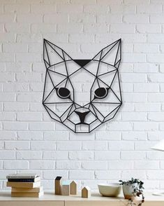 """Get great pointers on """"metal tree art decor"""". They are on call for you on our website. Geometric Cat, Geometric Drawing, Geometric Poster, Metal Tree Wall Art, Scrap Metal Art, Metal Artwork, Tree Artwork, Family Tree Mural, Cat Wall"""