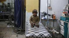 Air strike destroys hospital in Idlib's Maaret al-Numan