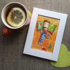 Саша #beard #beardman #watercolor #instaart #illustration #illustrations #drawing #picture #муж #борода #акварель #рисую #рисунок #краски #искусство #иллюстрация #художник #собака #dog #tea #teatime #чай