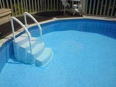 round above ground pool deck ideas