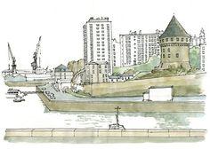 Brest, la tour Tanguy | by gerard michel
