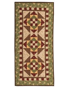 5 - Division 20 / Class 2 / Lot 2 - Apple River Table Runner