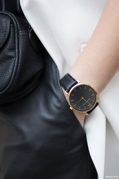 Larsson & Jennings watch | Minimal + Chic | @CO DE + / F_ORM
