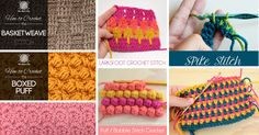 16. Picot Stitch It is a very special type of stitching technique involving the crochet and knit edges. The small bobbles of this knit look very nice in the attires. It is really a great fun to do these stitches. The picot is a type of crochet stitch and is a smaller cluster of the …