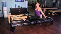 Pilates Reformer Exercises for the Waist  Bra Fat : Pilates  Stretching for Fitness