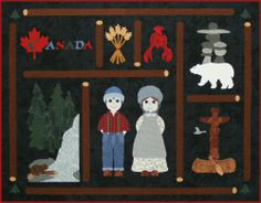 Postcards from...Canada Quilt