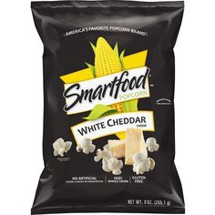 Our white cheddar is deliciously tangy with the perfect amount of savory sharp cheddar cheese. You will receive oz. bags of our delicious Wise Popcorn White Cheddar Air Popped. White Cheddar Popcorn, Cheese Popcorn, Pop Popcorn, Air Popped Popcorn, White Cheddar Cheese, Popcorn Favors, Smartfood Popcorn, Frito Lay