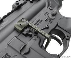 Reload & clear stoppages faster - Battery Assist Lever for AR15 by Tactical Link. It fits the Sig M400 without any mods.