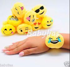 12 Emoji Snap Bracelets Emotion Emoticon Birthday Party Favors Party Fillers